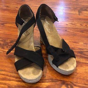 Tom's Platform Sandals - 7.5